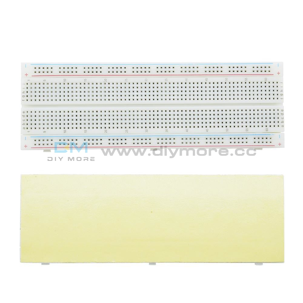 Solderless Mb-102 Mb102 Breadboard 830 Tie Point Pcb Breadboard For Arduino 1Pcs/2Pcs