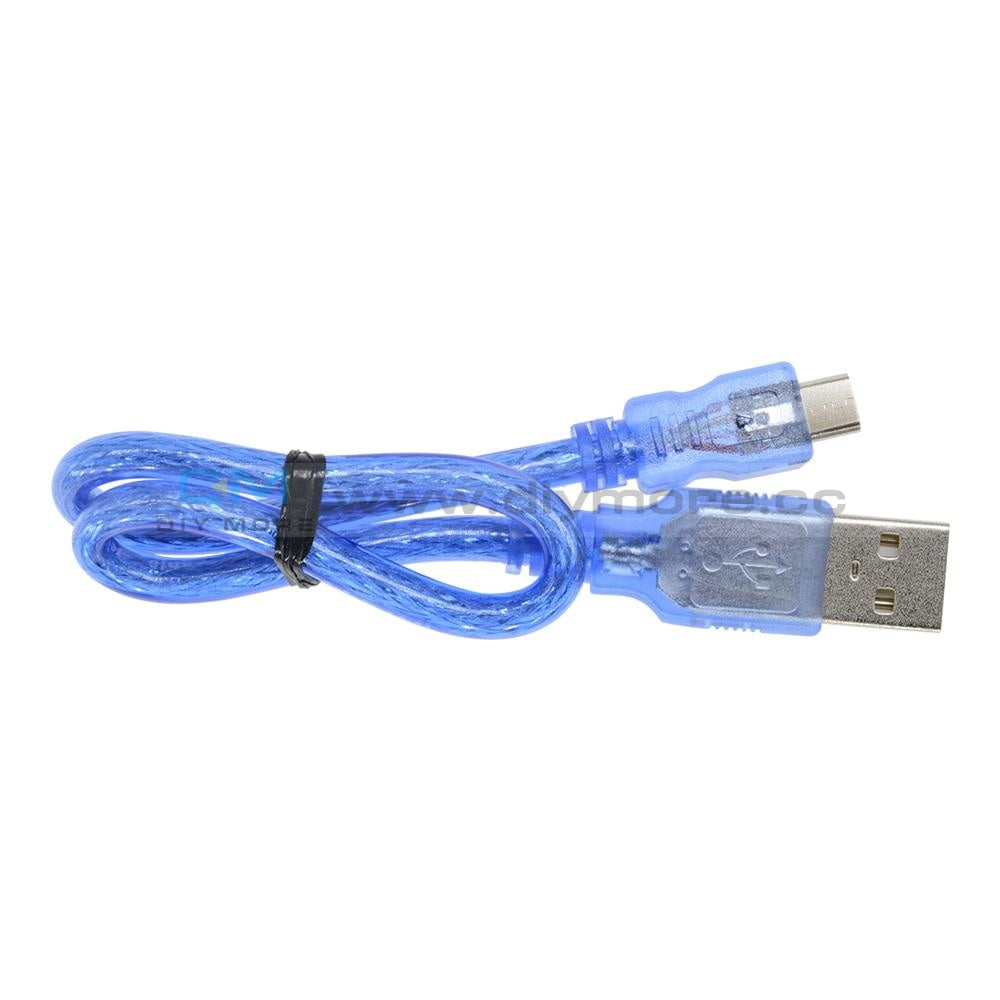 25Cm Usb 2.0 A Male To Micro 5 Pin Data Charge Cable Cord Tools