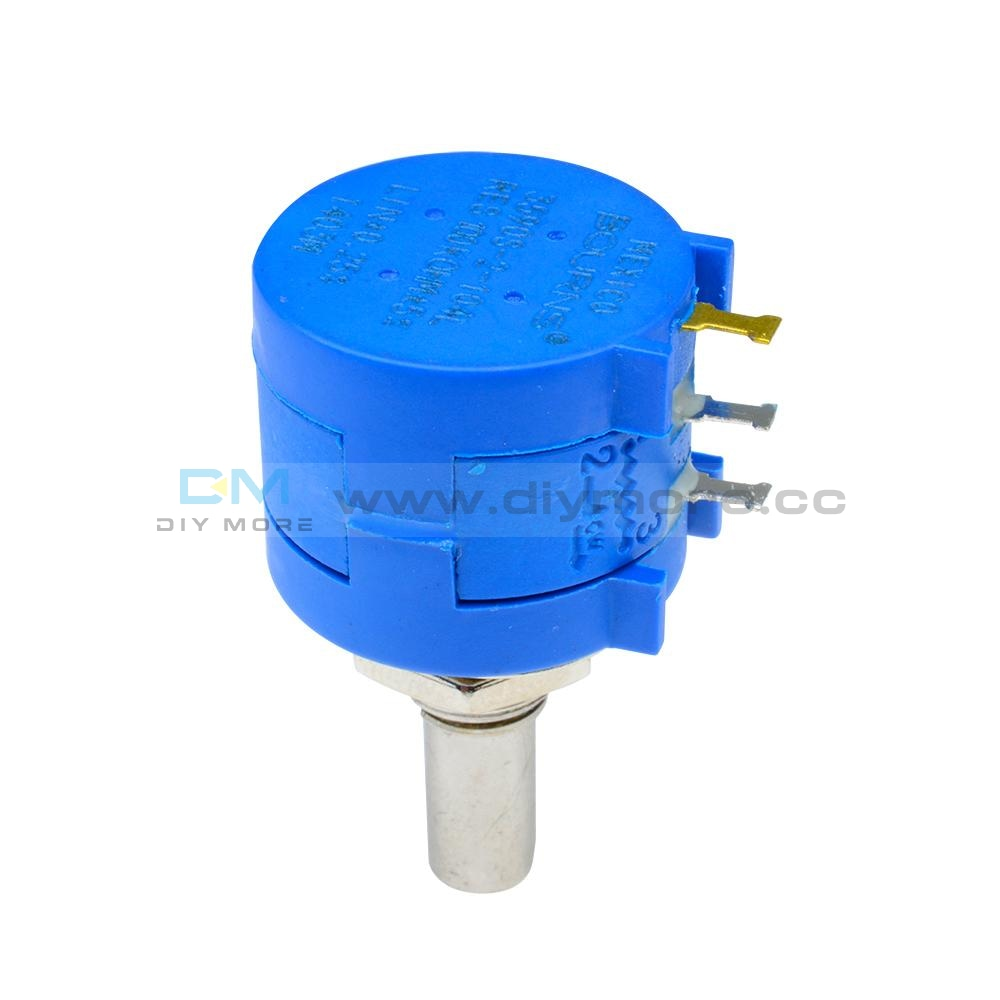 3590S-2-104L 100K Ohm Rotary Wirewound Precision Potentiometer Pot 10 Turn Tools
