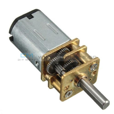 Micro Speed Reduction Gear Motor With Metal Gearbox Wheel Dc 6V 30Rpm N20 Controller