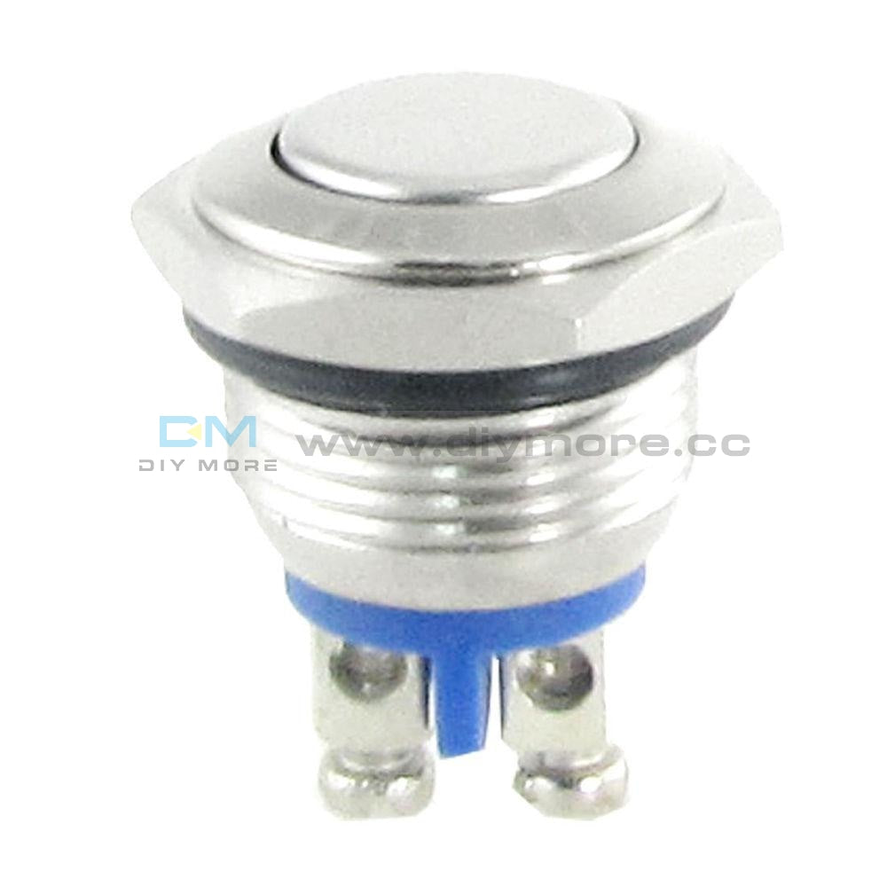 16Mm Anti-Vandal Momentary Stainless Steel Metal Push Button Switch Raised Tools