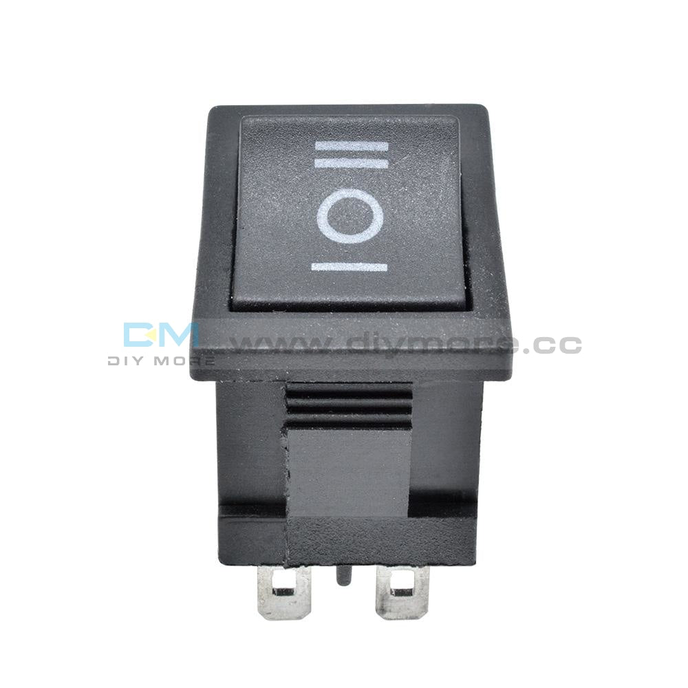 2Pcs 6Pin Dpdt On-Off-On 3 Position Snap Boatlike Rocker Switch Ac 6A/250V 10A/125V Tools