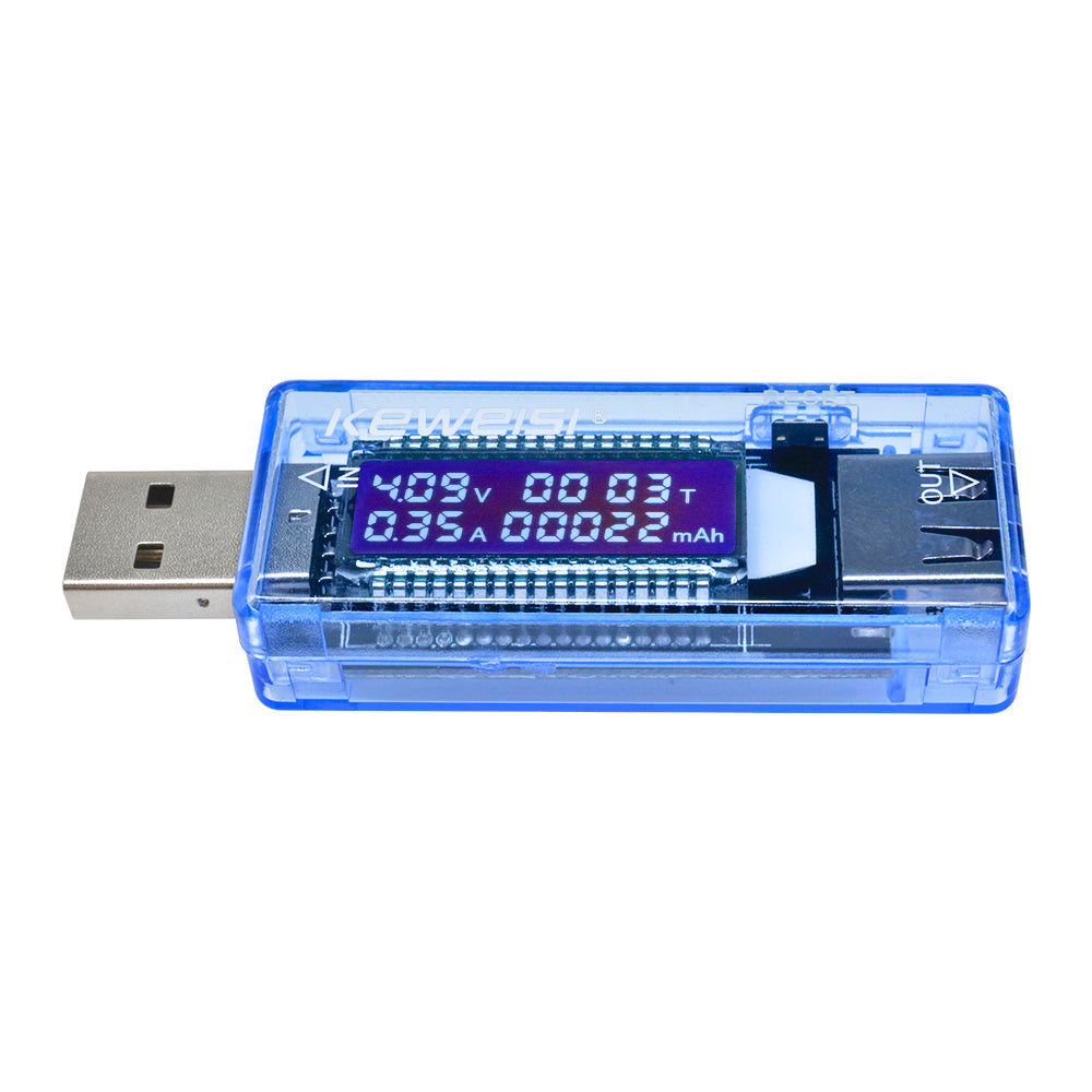 USB Charger Doctor Capacity Tester LCD Display Current Voltage Detector Meter