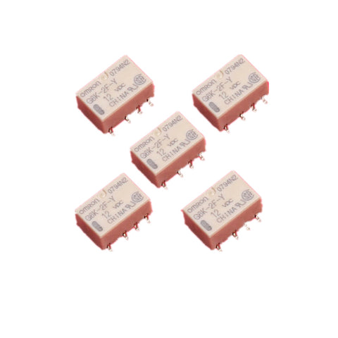 Set Durable SMD 12V G6K-2F-Y-12VDC Signal Relay 8PIN for Omron Relay