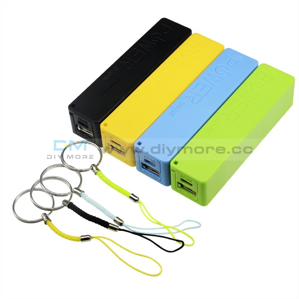 Blue/green/yellow/black Usb Power Bank Case Kit 18650 Battery Charger Diy Box Shield