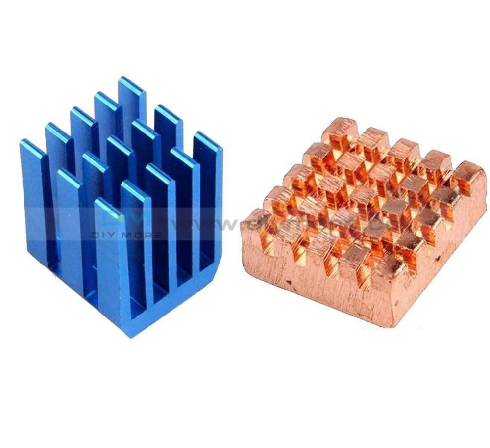 Copper Aluminium Cooling Heatsink Kit For Raspberry Pi 3 2 B+