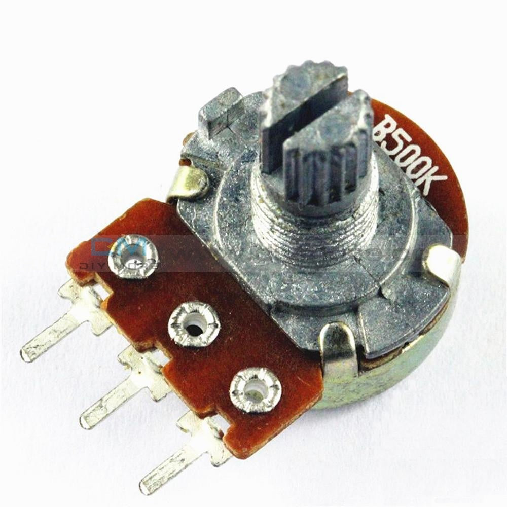 Wh148 Potentiometer B500K 15Mm 3Pin/ 6Pin 3Pin Tools