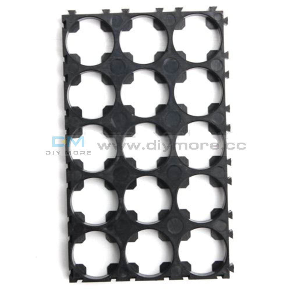 10Pcs 3 X 5 Cell 18650 Batteries Spacer Radiating Shell Plastic Heat Holder Bracket Tools