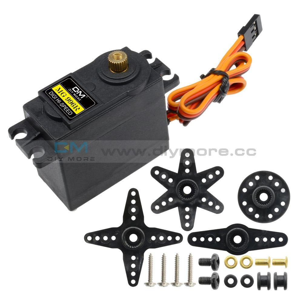 Mg996R Metal Gear High Speed Torque Servo Motor Digital Servo 55G For Rc Helicopter Airplane Car