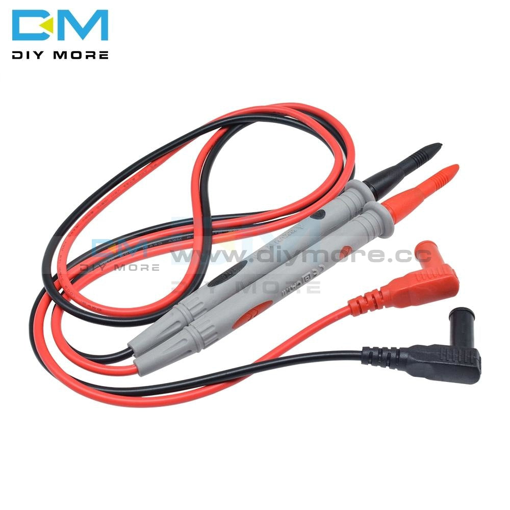 1 Pair Universal Digital Multimeter Test Pen 1000V 10A Leads Multi Meter Tester Lead Cable Probe Pin