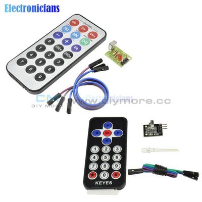 1 Set Infrared Remote Control Module Wireless Ir Receiver Diy Kit Hx1838 Smart Electronics For