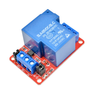 5V 30A 1-Channel Relay Module Board With Optocoupler H/L Level Triger