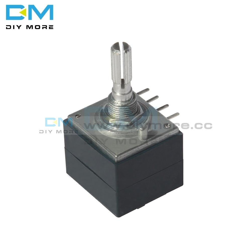 100K Alps Rotary Potentiometer Log Rh2702 Audio Volume Control Pot Stereo W Loudness Potentiometers