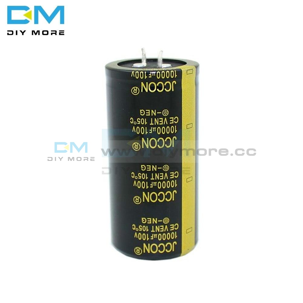 100V 10000Uf 35X70Mm 35X70 Aluminum Electrolytic Capacitor High Frequency Low Impedance Through Hole