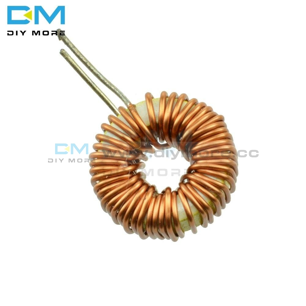 10pcs 100uh 6a Coil Toroid Core Inductors Wire Wind Wound