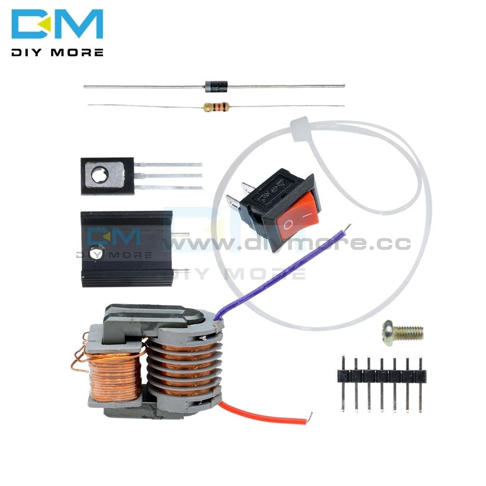 15Kv High Frequency Dc Voltage Arc Ignition Generator Inverter Boost Step Up 18650 Diy Kit U Core