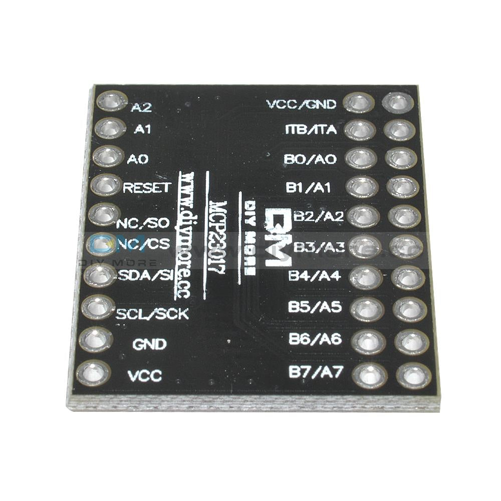 I2C Iic Serial Interface Mcp23017 Bidirectional 16-Bit I/o Expander Module
