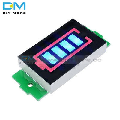 1S 2S 3S 4S 1 2 3 4 Series Li Po Ion Lithium Battery Capacity Indicator Module Display Electric