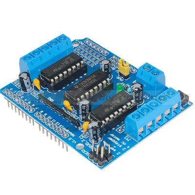 L293D Stepper Motor Driver Shield Expansion Board For Arduino Mega2560 Uno Duemilanove Diecimila