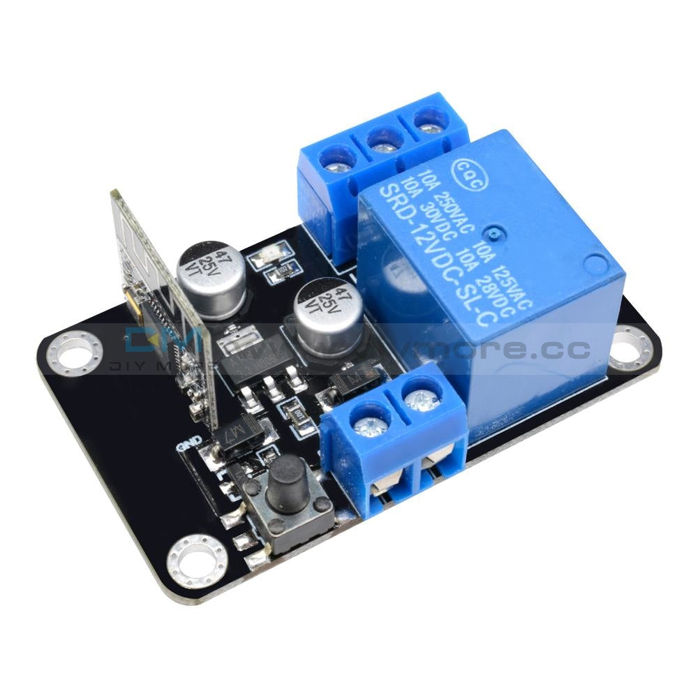 Dc12V Esp8285 Self-Lock Smart Home Wifi Wireless Switch Delay Relay Module By App Control Ios