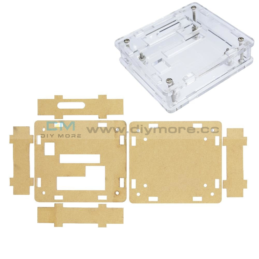 Clear Acrylic Case Shell Kit for XH W1209 Digital Temperature Control Module
