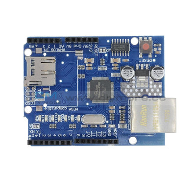 W5100 Ethernet Shield For Arduino Main Board Uno R3 Atmega 328 1280 Mega2560 Expansion Module