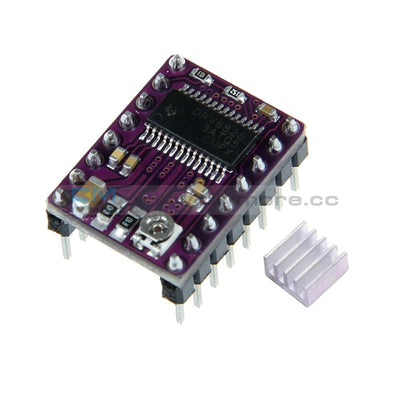 Drv8825 Stepper Motor Driver Module 3D Printer Ramps1.4 Reprap Stepstick With Heatsink For Arduino