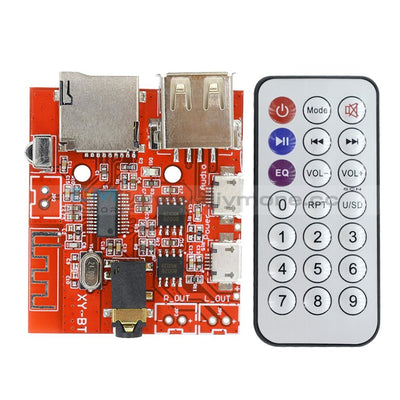 3.0/4.0/4.1 Bluetooth Mp3 Decoding Board Car Speaker Refit With Remote Control Decoder
