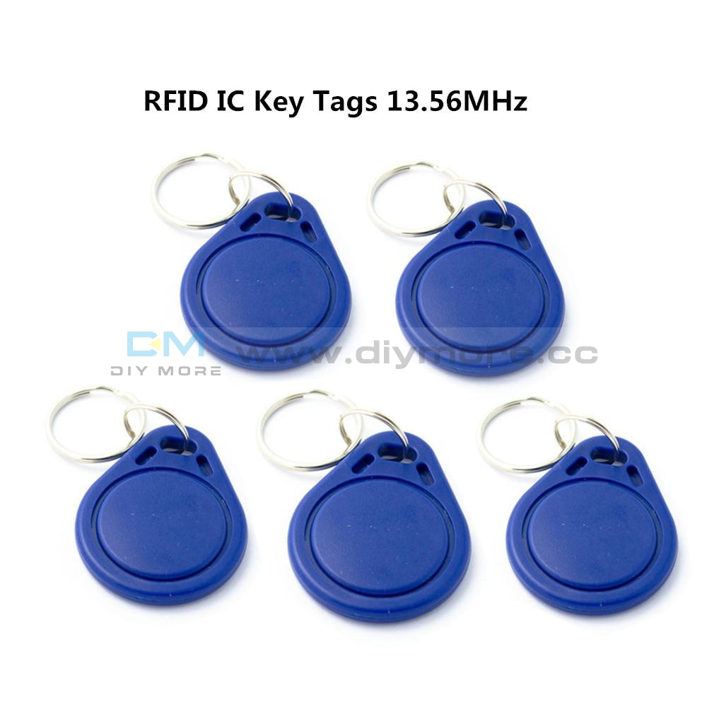 10Pcs Rfid Ic Keyfobs Key Tags Token Nfc Tag Keychain 13.56Mhz For Arduino Module