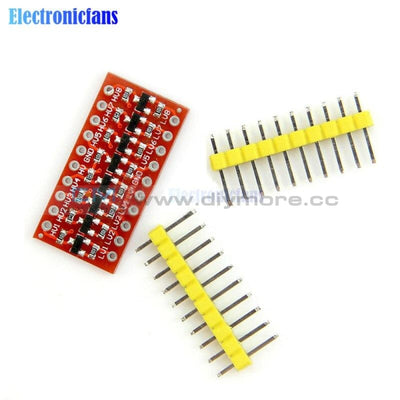 2Pcs I2C Iic 8 Channel Logic Level Converter Module Bi Directional For Arduino Step Up 3.3V To 5V