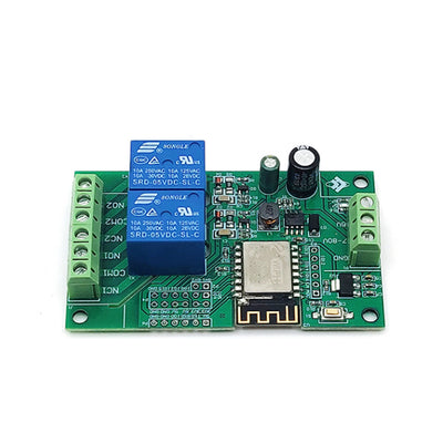 5V Power Supply ESP8266 WIFI Dual Channel Relay Module ESP-12F Development Doard