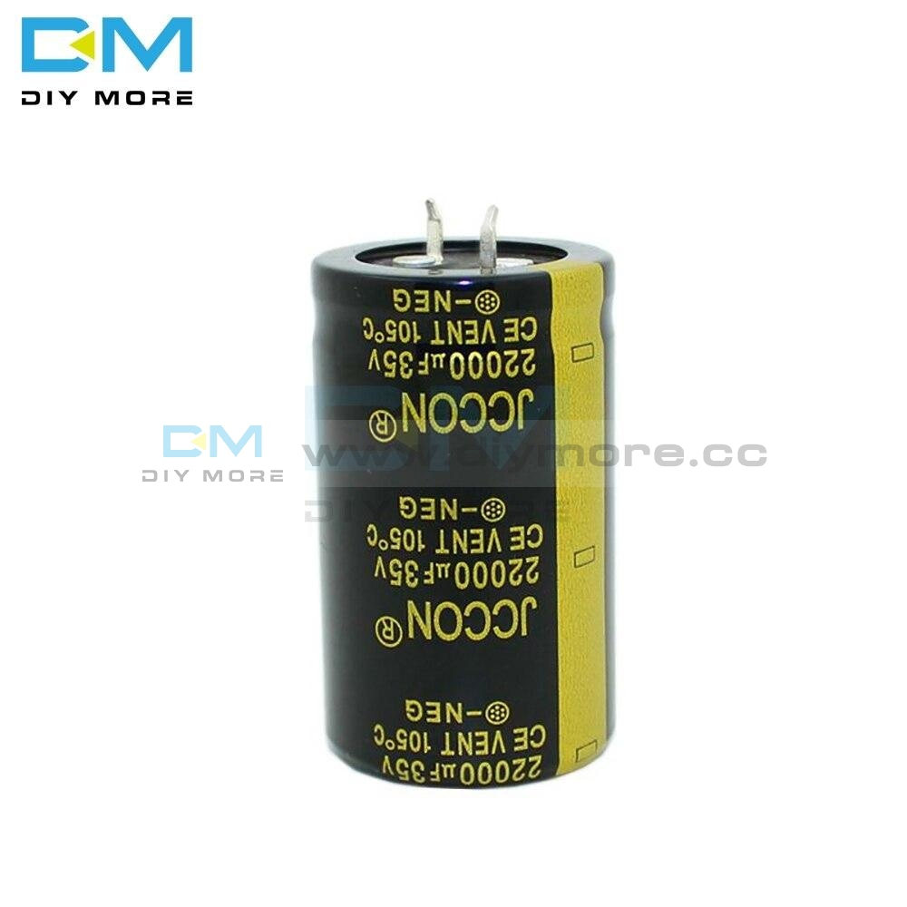 35V 22000Uf 30X50Mm 30X50 Aluminum Electrolytic Capacitor High Frequency Low Impedance Through Hole