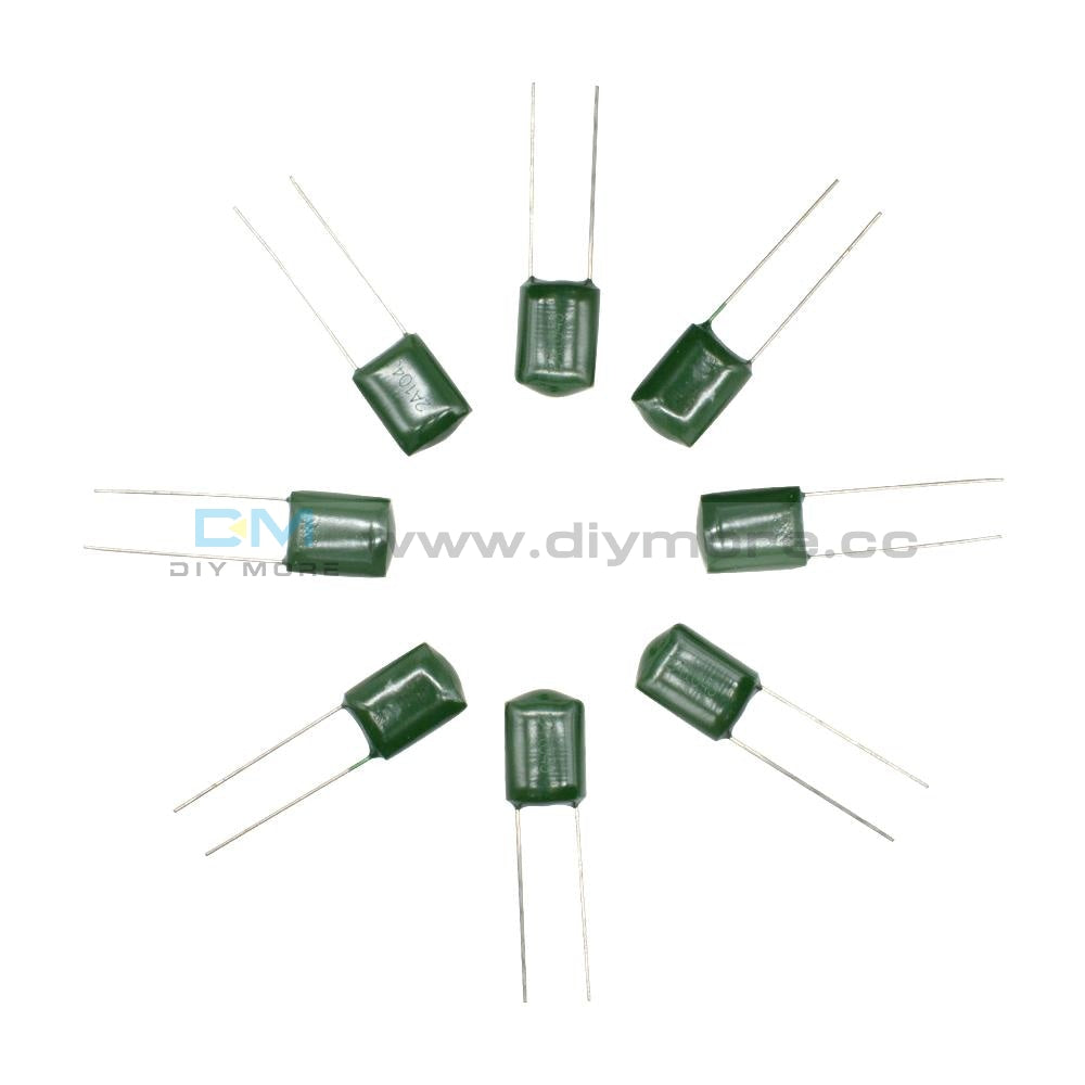 180Pcs 18 Values Polyester Film Capacitor Assortment Electrolytic Kit 63-630V