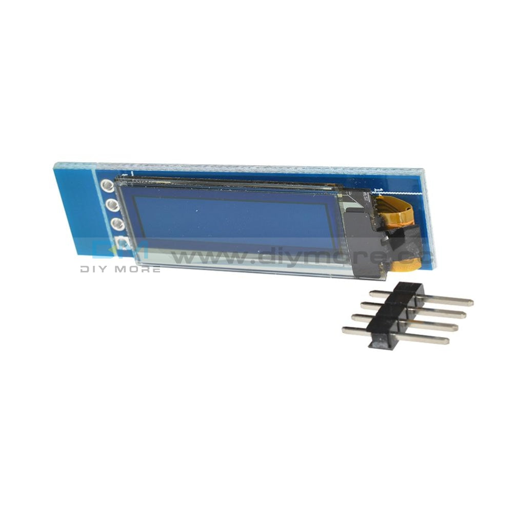 0.91 Inch Iic I2C Oled Lcd 12832 128X32 Display Diy Module Ssd1306 Driver Ic Dc 3.3V 5V Stm32 For