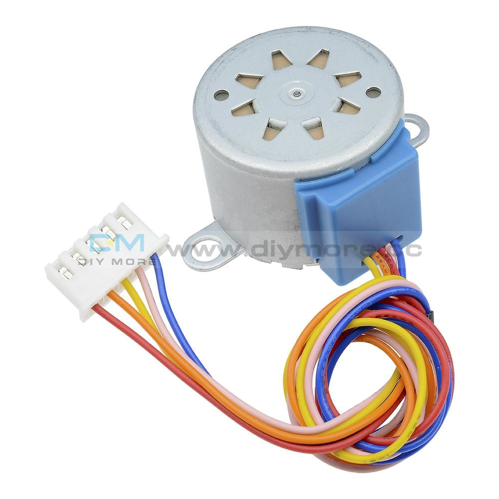 Dc 12V/5V 28Byj-48 Valve Gear Stepper Motor 4 Phase Step Reduction For Arduino Speed Controller