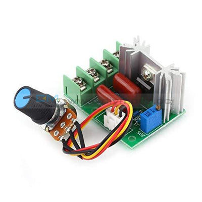 2000W High Power Voltage Regulator Switch Motor Speed Controller Module 50-220V