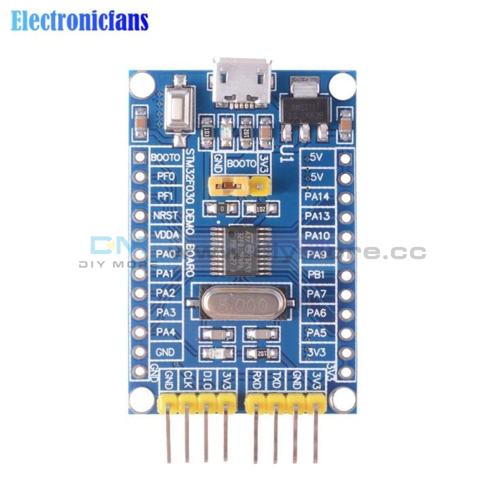 48 Mhz Stm32F030F4P6 Small Systems Development Board Cortex M0 Core 32Bit Mini System Panels