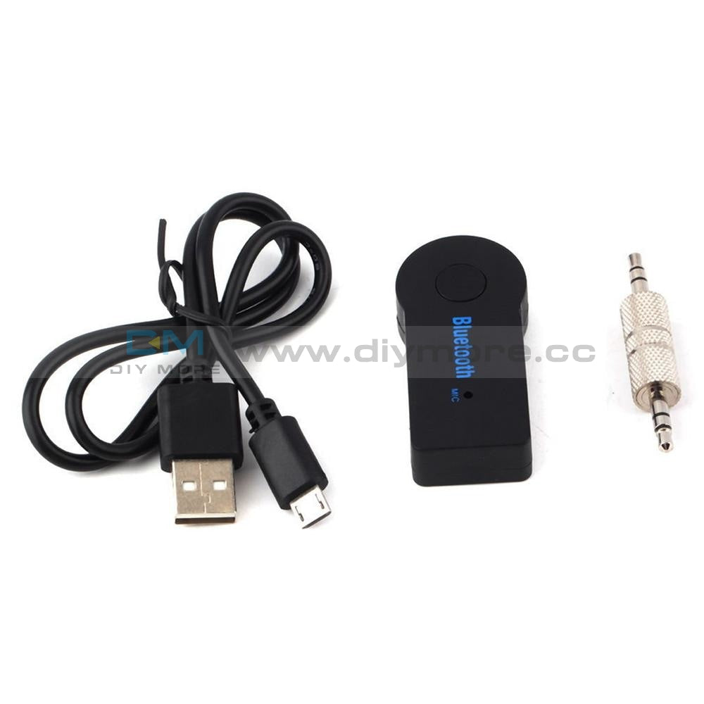 3.5Mm Wireless Usb Mini Bluetooth Aux Stereo Audio Music Car Adapter Receiver Module