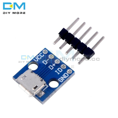 5Pcs Cjmcu Breakout Power Supply Module Micro Usb Interface Adapter Board 5V Integrated Circuits