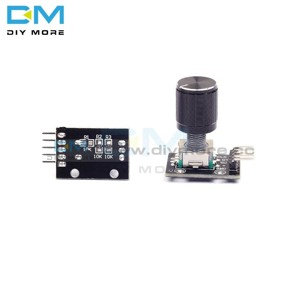 5Pcs Ky 040 360 Degrees Rotary Encoder Module For Arduino Development Board Brick Switch With Pins