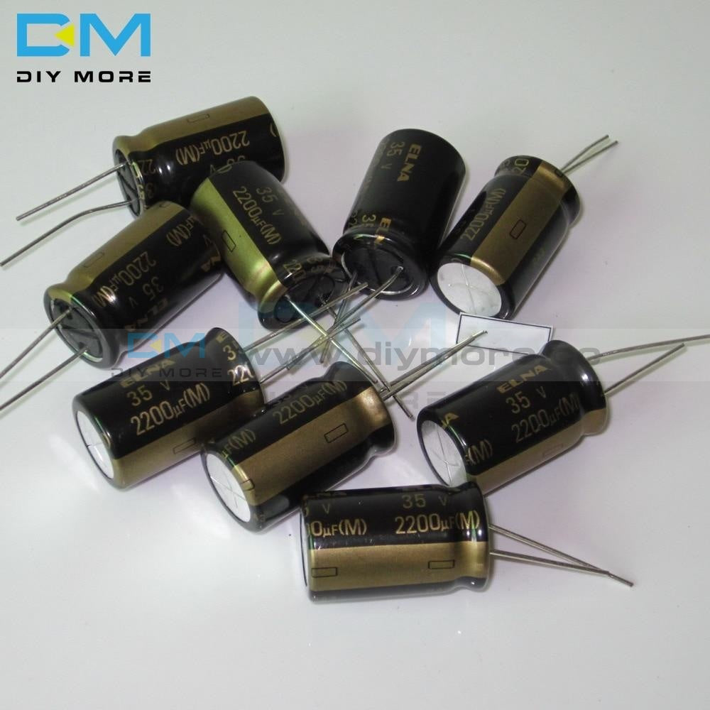 5Pcs Original Elna Audio Capacitor Ra3 35V 2200Uf 16*25Mm Aluminum Electrolytic Low Impedance