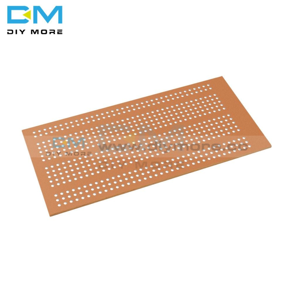 5Pcs Wholesale Universal 5X10Cm Solderless Pcb Test Breadboard Single Side Copper Prototype Paper