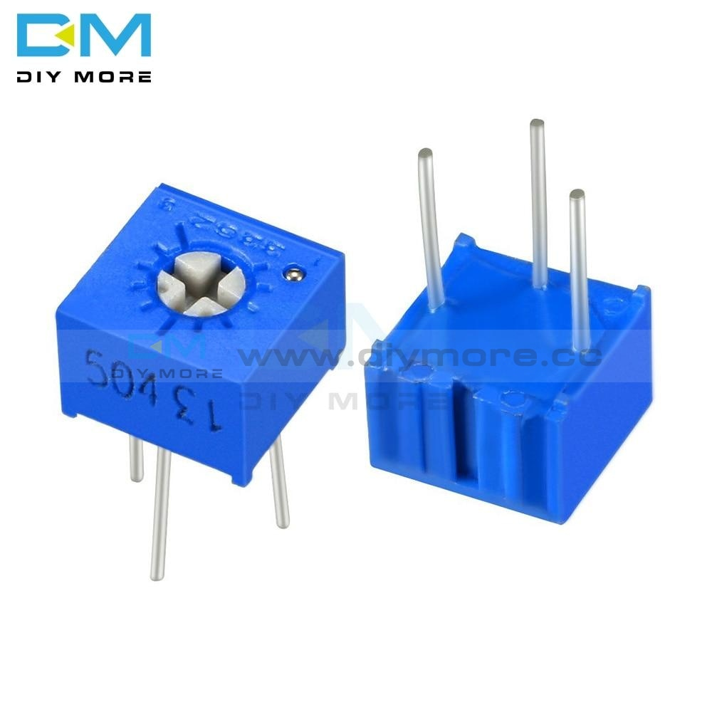 5Pcs Lot 3362P Trimmer Potentiometer Variable Resistor 100R 200R 500R 1K 2K 5K 10K 20K 50K 100K 200K