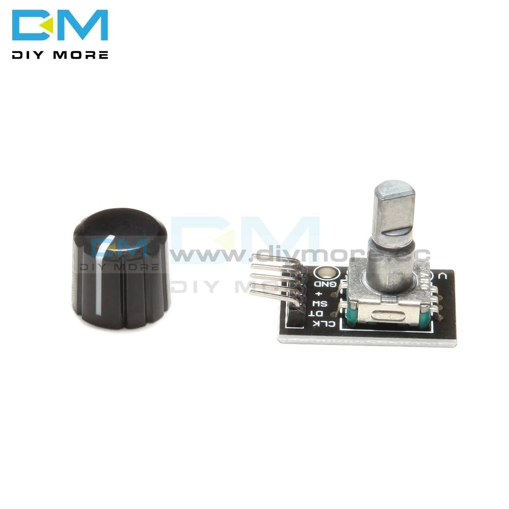 5Pcs Lot Ky 040 360 Degrees Rotary Switch Encoder Module With 15X13.5 Mm Potentiometer Half Shaft