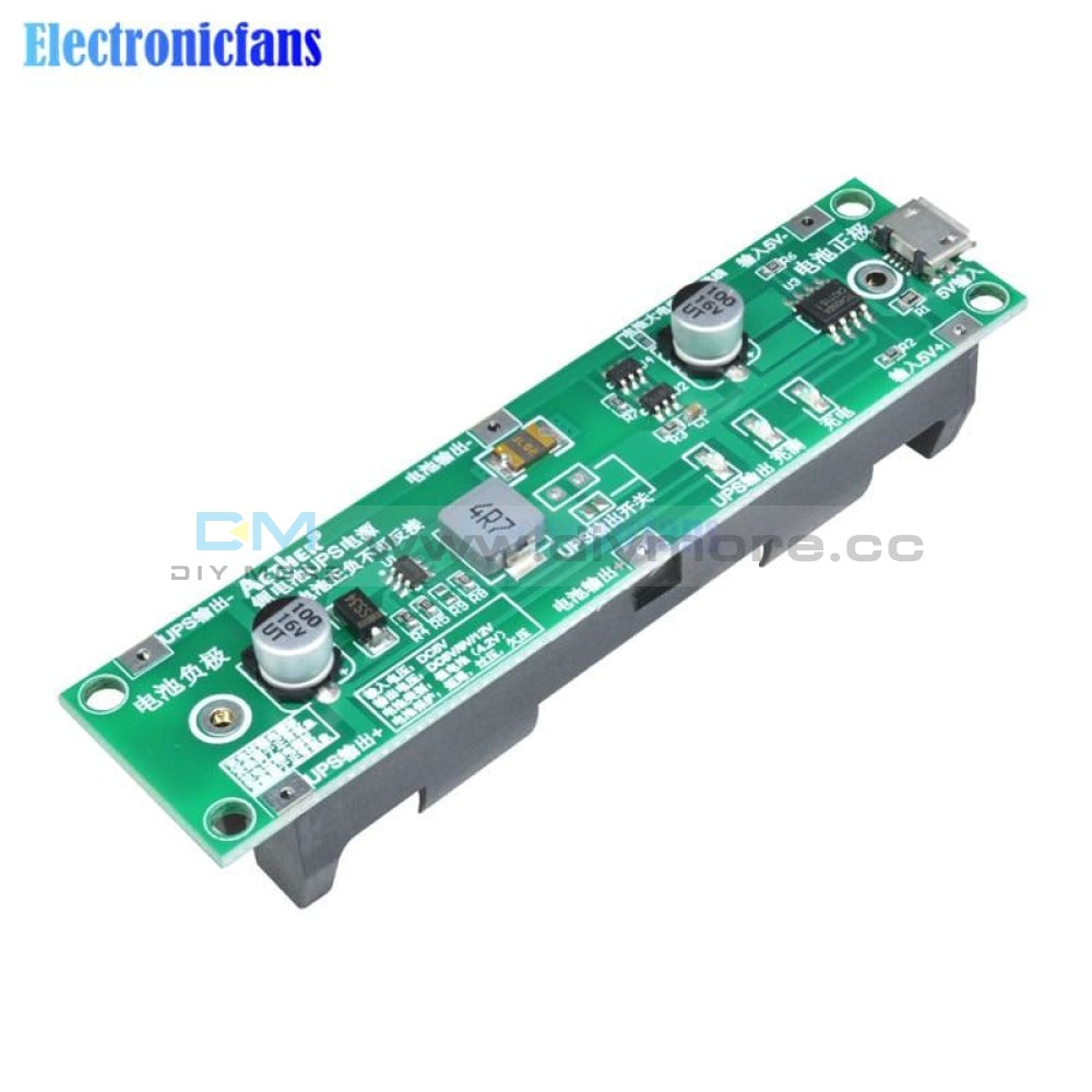 5V 18650 Lithium Battery Charger Protection Board Boost Step Up Module Charge Discharge The Same