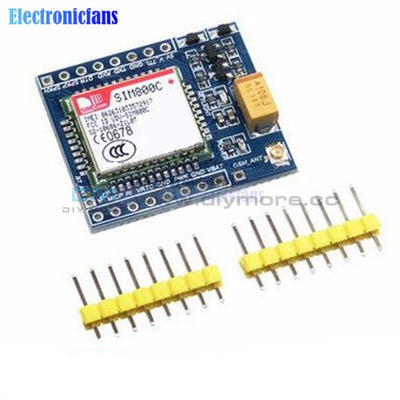 5V 3.3V Sim800C Gsm Gprs Electronic Pcb Board Module Ttl Development Ipex With Bluetooth Tts Stm32