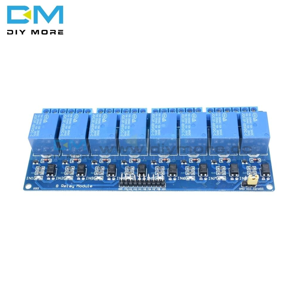 5V One 1/2/4/6/8 Channel Relay Power Module Interface Board Shield For Arduino Pic Avr Dsp Arm Mcu