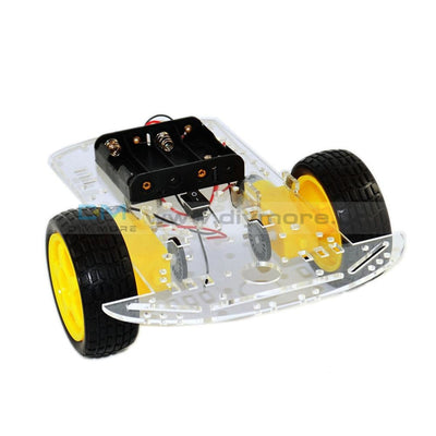 2Wd Robot Smart Car Chassis Diy Kits Intelligent Engine With Tracking Speed And Tacho Encoder