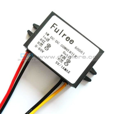Dc 24V To 12V 5A 60W Buck Converter Step-Down Car Power Supply Voltage Regulator Step Down Module