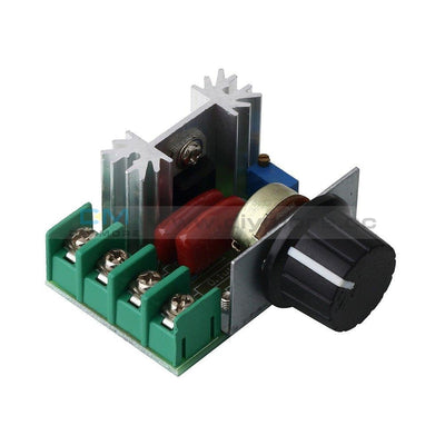 Ac 50-220V 25A 2000W Adjustable Pwm Motor Speed Controller Voltage Regulator